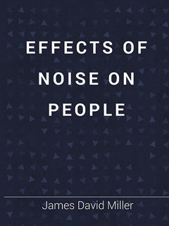 Effects of Noise on People